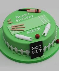 Cricket Theme Cakes